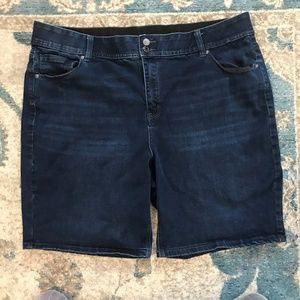 Lane Bryant Jean Shorts Size 24